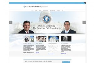 Website design development solution for a non-profit organization