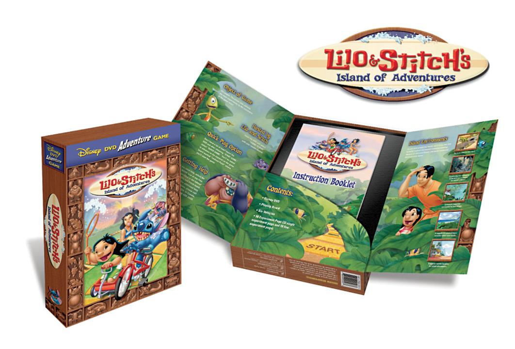 Image of Lilo & Stitch DVD game