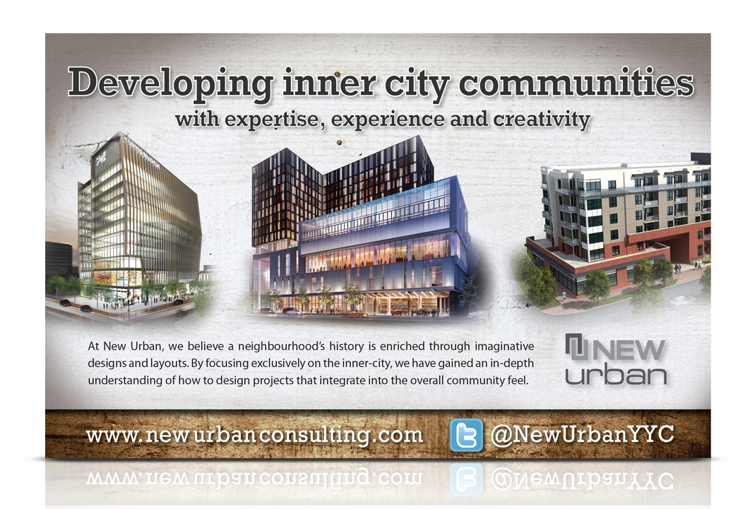 Image of a direct mail invite for real estate development