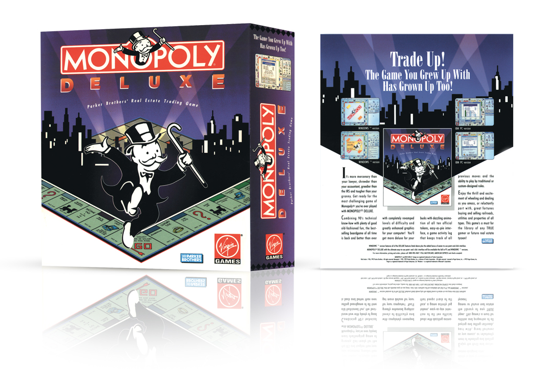 Image of Monopoly Delux