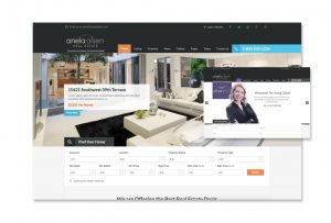 Website design development solution for real estate company