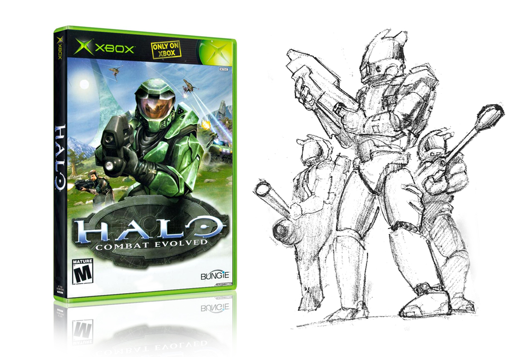 Image of Xbox Halo game packaging